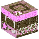 Girly Cammo Storage Box - Storage Stool 12