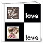 Angelica Classic Black & White  12 x 12 60 page book - 12x12 Photo Book (60 pages)