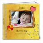 lydia year one - 8x8 Photo Book (20 pages)