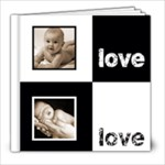 Angelica Classic Black & White  8 x 8 20 page book - 8x8 Photo Book (20 pages)