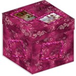 Butterflies n Frills hot pink storage stool box - Storage Stool 12