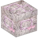 Butterflies n Frills Pink Enjoy storage stool box - Storage Stool 12