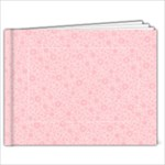 Katie/Pink Floral-9x7 Album - 7x5 Photo Book (20 pages)