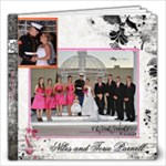 Niles and Torie Wedding Album - 12x12 Photo Book (60 pages)