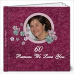 mums 60th 80 page - 12x12 Photo Book (80 pages)