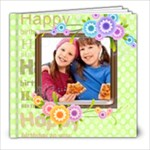happy birthday - 8x8 Photo Book (20 pages)