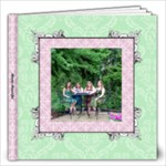 Fancy Pink & Green Album 12x12 60 pages - 12x12 Photo Book (60 pages)