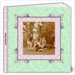 Fancy Pink & Green Album 12x12 40 pages - 12x12 Photo Book (40 pages)