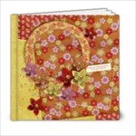 Floral/Oriental 6x6 Album, template  - 6x6 Photo Book (20 pages)