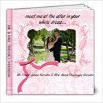 alexis wedding book - 8x8 Photo Book (39 pages)