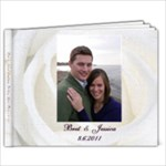 Wedding Guest Book with Words - 9x7 Photo Book (20 pages)