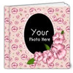 Pink Pansy - 8x8 Deluxe Photo Book (20 pages)