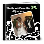 Kristien Glaze Wedding Book - 8x8 Photo Book (20 pages)