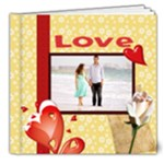 love - 8x8 Deluxe Photo Book (20 pages)