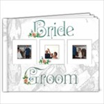 Bride & Groom 39 page 9 x 7 book - 9x7 Photo Book (39 pages)