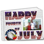 4th of July Deluxe  20 page 9 x 7 book - 9x7 Deluxe Photo Book (20 pages)