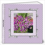 Lavender Lace Album 12x12 60 pages - 12x12 Photo Book (60 pages)