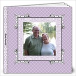 Lavender Lace Album 12x12 40 pages - 12x12 Photo Book (40 pages)