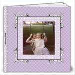 Lavender Lace Album 12x12 20 pages - 12x12 Photo Book (20 pages)