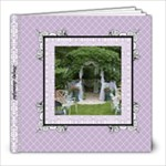 Lavender Lace Album 8x8 39 pages - 8x8 Photo Book (39 pages)