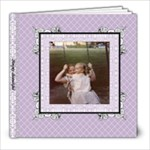 Lavender Lace Album 8x8 20 pages - 8x8 Photo Book (20 pages)