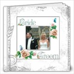 Dove 12 x 12 100 page wedding keepsake album  - 12x12 Photo Book (100 pages)