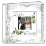 Dove Deluxe 8 x 8 20 page wedding keepsake  - 8x8 Deluxe Photo Book (20 pages)