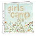 Lisa s girls camp cover version 2  - 8x8 Photo Book (20 pages)