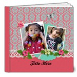 8x8 DELUXE: That Girl / Any Occasion Photobook - 8x8 Deluxe Photo Book (20 pages)