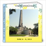 FUN IN SPRINGFIELD - 8x8 Photo Book (20 pages)