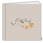 8x8 DELUXE - template Our Family - 8x8 Deluxe Photo Book (20 pages)