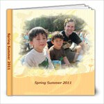 March 2011 to Summer - 8x8 Photo Book (20 pages)