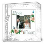 Dove 8 x 8 39 page wedding keepsake album  - 8x8 Photo Book (39 pages)