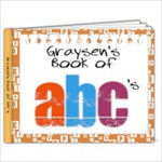 Graysen ABC Book - 9x7 Photo Book (20 pages)