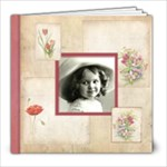 Rosa Botanica 20 Page 8 x 8 book - 8x8 Photo Book (20 pages)