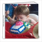 Jaxson s First Birthday - 8x8 Photo Book (20 pages)