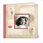 Rosa Botanica 20 Page 6 x 6 book - 6x6 Photo Book (20 pages)