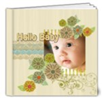 hello Baby - 8x8 Deluxe Photo Book (20 pages)