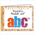 Ryan ABC Book - 9x7 Photo Book (20 pages)