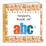 Haylee ABC Book - 8x8 Photo Book (20 pages)