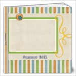 Tutti-Frutti Stripes 12x12 Photo Book - 12x12 Photo Book (20 pages)