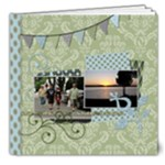 Summer Sophisticate DELUXE 8x8 20 page book - 8x8 Deluxe Photo Book (20 pages)