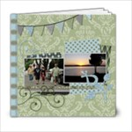 Summer Sophisticate 6x6 20 page book - 6x6 Photo Book (20 pages)