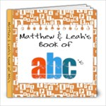 Matthew & Leah s ABC Book - 8x8 Photo Book (20 pages)