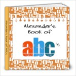 Alexander s ABC Book - 8x8 Photo Book (20 pages)