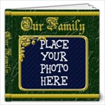 Our Family 12x12 - 12x12 Photo Book (20 pages)