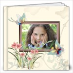 Flower Girl Pattern - 12x12 Photo Book (20 pages)