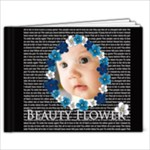 beauty Flower - 9x7 Photo Book (20 pages)