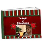 9x7 DELUXE Magic of Christmas - 9x7 Deluxe Photo Book (20 pages)
