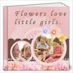 little girl and flower - 12x12 Photo Book (20 pages)